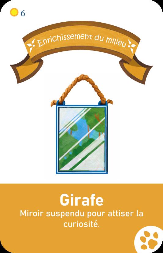 carte edm girafe