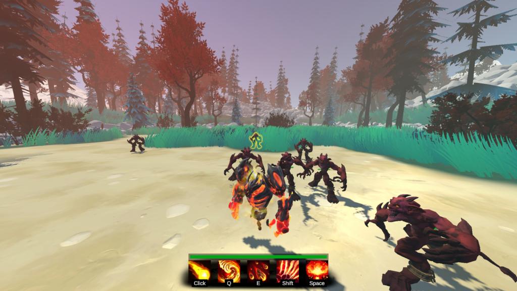 screenshot arena lab jeu video