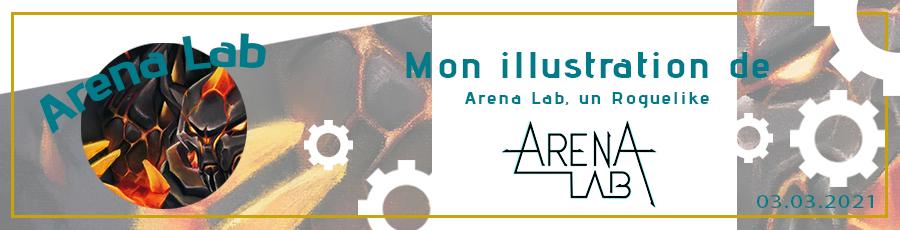illustration jeu video arena lab news